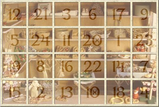 calendrier avent 2012 - jicolin